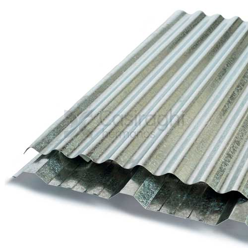 Chapa para techo galvanizada